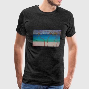 The Beach - Men's Premium T-Shirt
