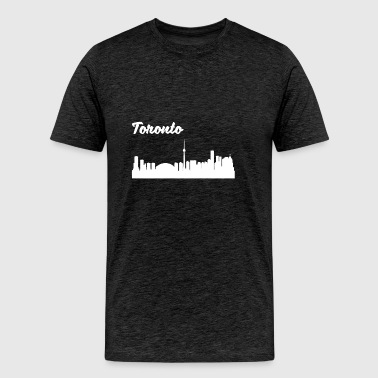 Toronto Skyline - Men's Premium T-Shirt