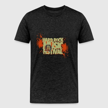 hard rock festival - Men's Premium T-Shirt