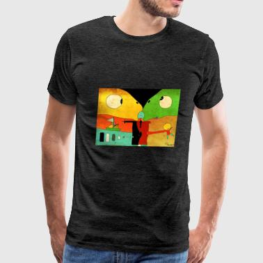 Lizard - Men's Premium T-Shirt