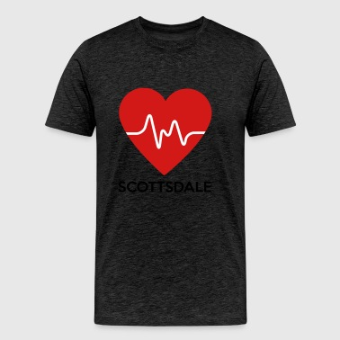 Heart Scottsdale - Men's Premium T-Shirt