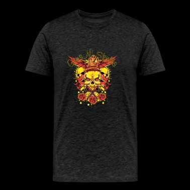guns skulls - Men's Premium T-Shirt