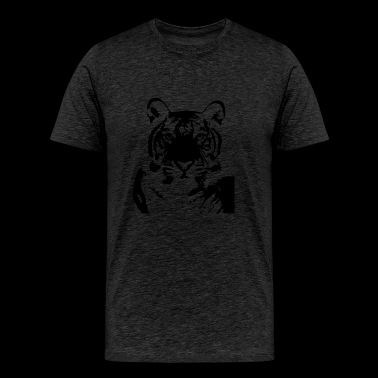 Tiger Plus Size - Men's Premium T-Shirt