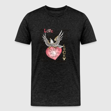 love yourself first - Men's Premium T-Shirt