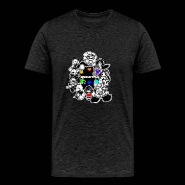 Undertale Team Game - Men's Premium T-Shirt
