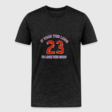 23rd birthday design - Men's Premium T-Shirt
