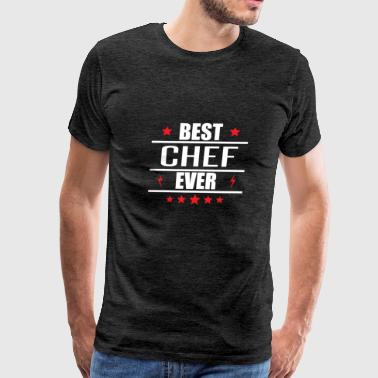 Best Chef Ever - Men's Premium T-Shirt