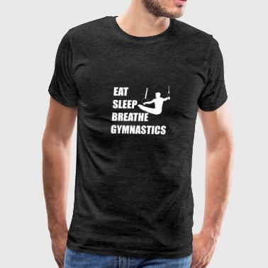 Eat Sleep Breathe Gymnastics - Men's Premium T-Shirt