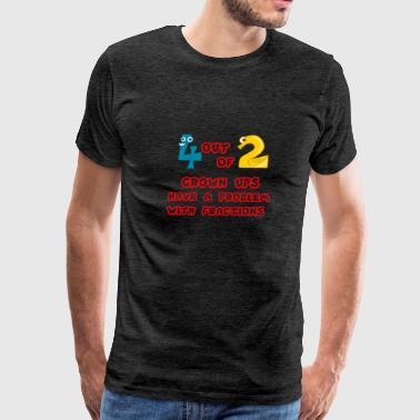 Fractions Kids - Men's Premium T-Shirt