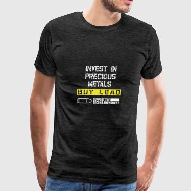Support the second amendment - Men's Premium T-Shirt