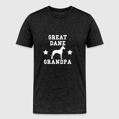 Great Dane Grandpa - Men's Premium T-Shirt