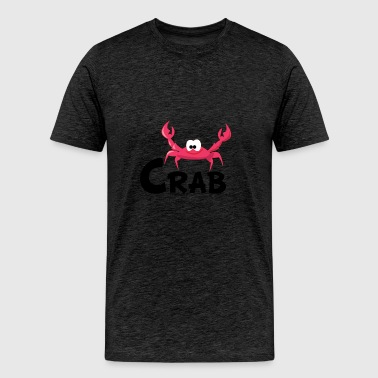 Cartoon Crab - Men's Premium T-Shirt