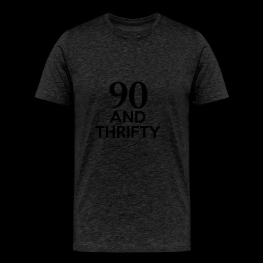 90th birthday designs - Men's Premium T-Shirt