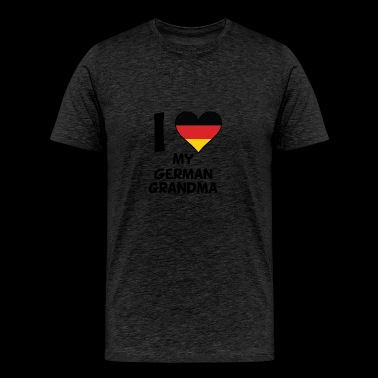 I Heart My German Grandma - Men's Premium T-Shirt