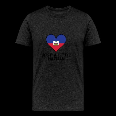 Just A Little Haitian - Men's Premium T-Shirt