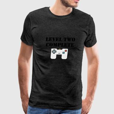 Level Two Complete Second Birthday - Men's Premium T-Shirt