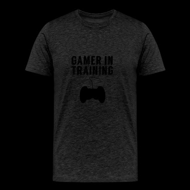 Gamer In Training - Men's Premium T-Shirt