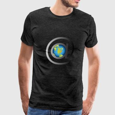 email rules the world - Men's Premium T-Shirt
