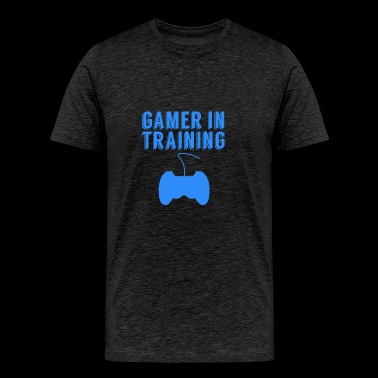 Gamer In Training Video Games - Men's Premium T-Shirt