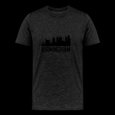 Birmingham Alabama City Skyline - Men's Premium T-Shirt