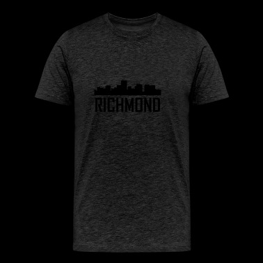 Richmond Virginia City Skyline - Men's Premium T-Shirt