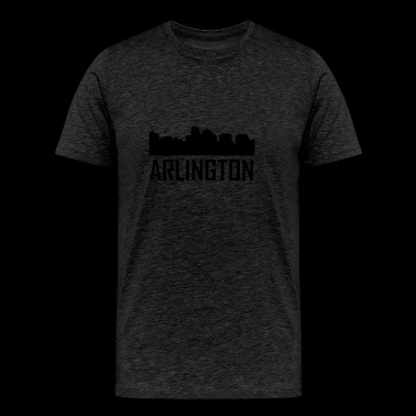 Arlington Virginia City Skyline - Men's Premium T-Shirt