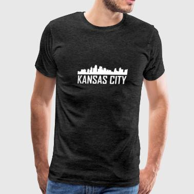 Kansas City Kansas City Skyline - Men's Premium T-Shirt