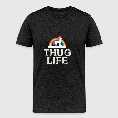 Thug Life Unicorn - Men's Premium T-Shirt