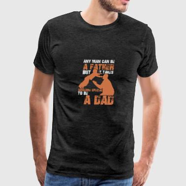 Any Man can be A Father, special to be a dad - Men's Premium T-Shirt