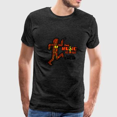 The Music Is In Us Freedom Choir - Men's Premium T-Shirt