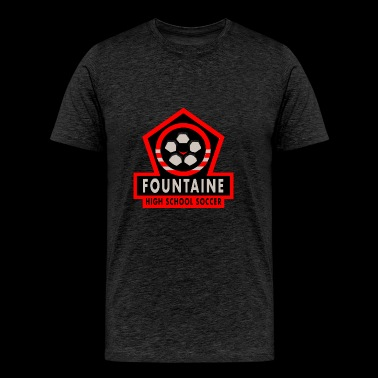 Fountaine High School Soccer - Men's Premium T-Shirt