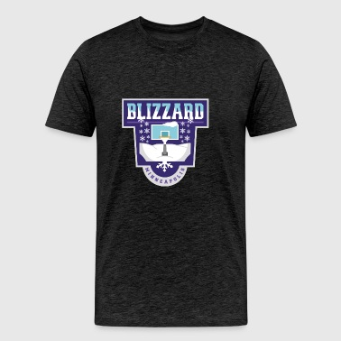 Minneapolis Blizzards - Men's Premium T-Shirt