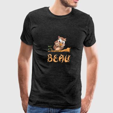 Beau Owl - Men's Premium T-Shirt