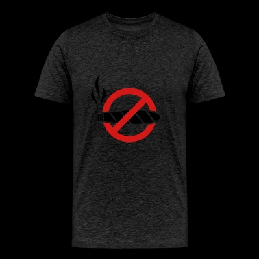 No smoking - cigar - Men's Premium T-Shirt