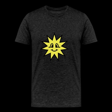 sun - smile - Men's Premium T-Shirt
