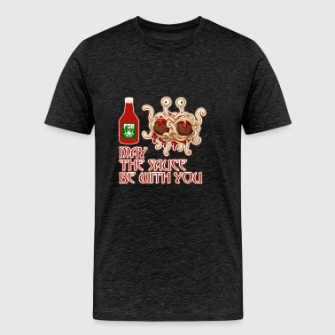 May the sauce be with you - Men's Premium T-Shirt