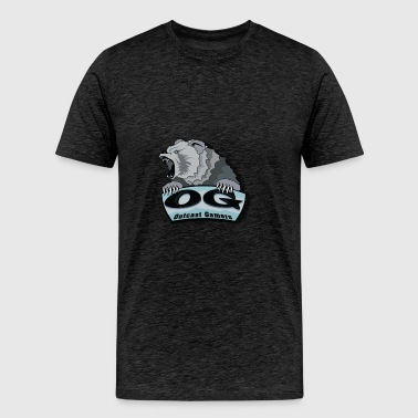 Outcast Gamers Simple logo - Men's Premium T-Shirt