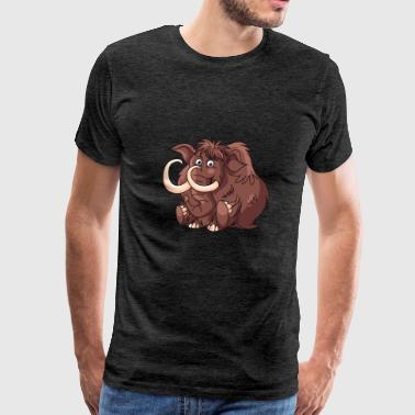 cool-mammoth-animal-wildlife - Men's Premium T-Shirt