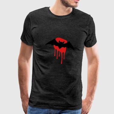 Bat with blood stain - Men's Premium T-Shirt