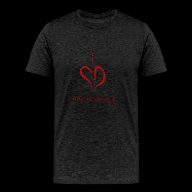 I Heart My Mommy - Men's Premium T-Shirt