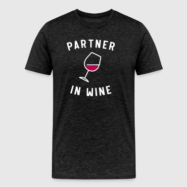 Partner In Wine - Men's Premium T-Shirt