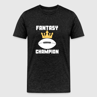 Fantasy Champion Fantasy Football - Men's Premium T-Shirt