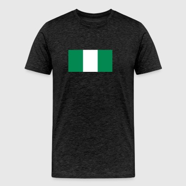 Flag of Nigeria Cool Nigerian Flag - Men's Premium T-Shirt
