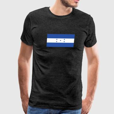 Flag of Honduras Cool Honduran Flag - Men's Premium T-Shirt