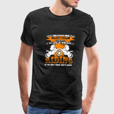 Ride Dirt Bike Shirts - Men's Premium T-Shirt