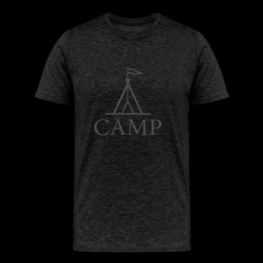 Tent Camp - Men's Premium T-Shirt