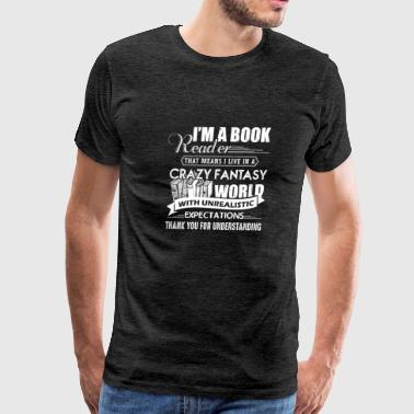 Book Reader Expectations - Men's Premium T-Shirt
