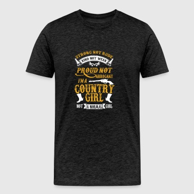 I'm a Country-girl not a normal girl - Men's Premium T-Shirt