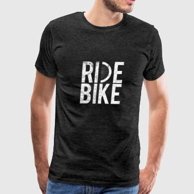Bicycle Gift Bicycling BMX bike Ride Bike - Men's Premium T-Shirt