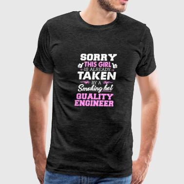 Quality Engineer Shirt Cool Gift for Girlfriend - Men's Premium T-Shirt